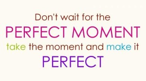 Funny-Life-Quotes-and-Sayings-Dont-Wait-for-the-Perfect-Moment-Take-the-Moment-and-Make-It-Perfect