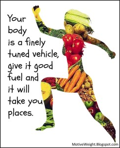 Your Body is a Finely tuned vehicle (1)